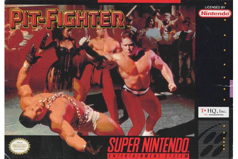 Pit-Fighter SNES Super Nintendo