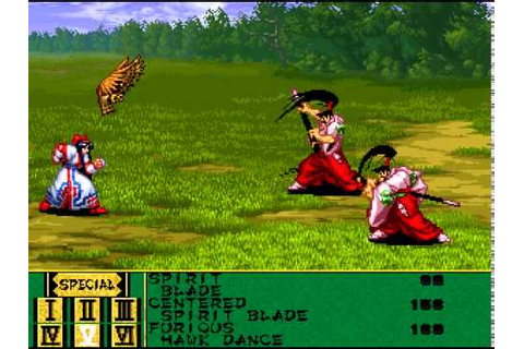 Samurai Shodown RPG in English - Nakoruru & Rimururu ...