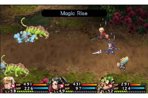 Radiant Historia: Perfect Chronology Battle Gameplay ...