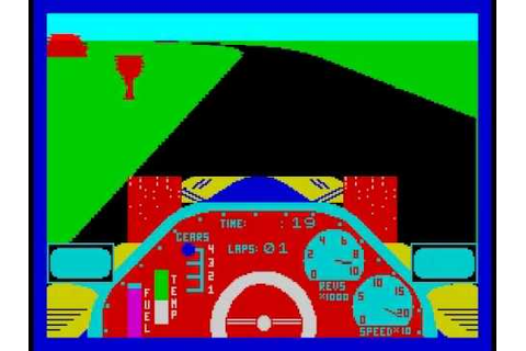 Chequered Flag Walkthrough, ZX Spectrum - YouTube
