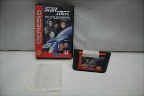 Star Trek: The Next Generation Echoes From the Past (Sega ...