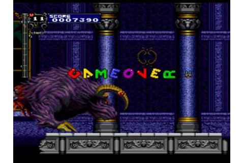 Game Over: Castlevania - Rondo of Blood - YouTube