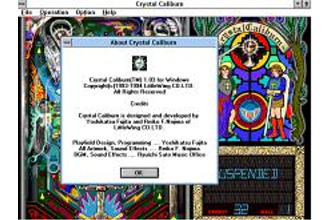 Crystal Caliburn Download (1994 Arcade action Game)