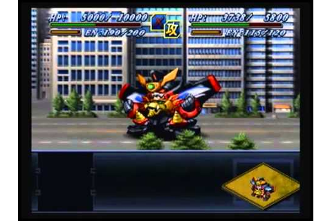 21 The 2nd Super Robot Wars Alpha - Sanger - Scenario 9 ...