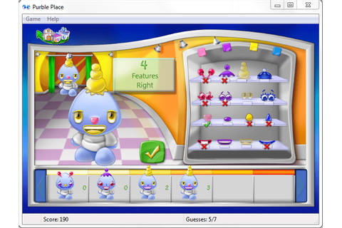 Windows 7 Games Purble Place - How to Play Purble Shop ...