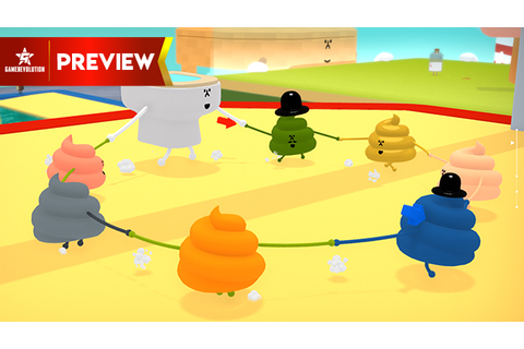 Wattam is all about poop but it doesn't seem crappy ...