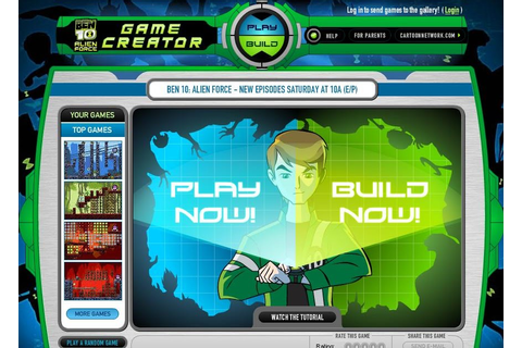 Ben 10: Ben 10: Alien Force Game Creator
