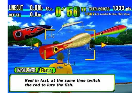 Game Sega Marine Fishing - Giant Trevally - Skip Jack Tuna ...