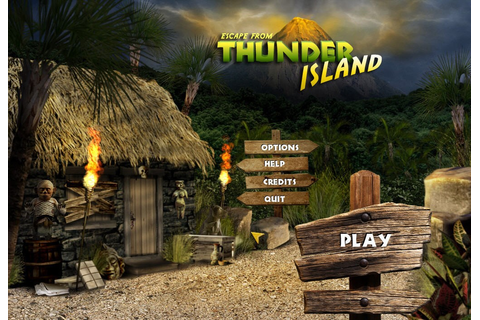 Escape from Thunder Island Games Thunder Island Escape From