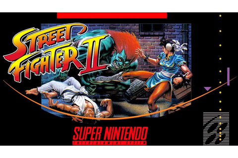 Street Fighter II: The World Warrior [Super Nintendo ...