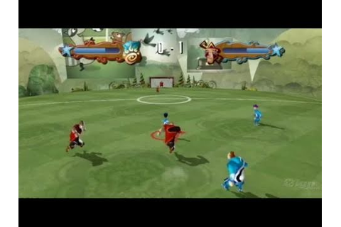 Academy of Champions Soccer Nintendo Wii Gameplay - Two ...