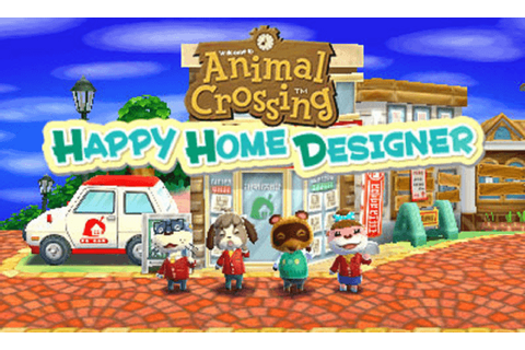 Animal Crossing: Happy Home Designer Character ...