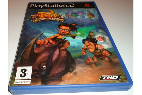 TAK - THE GREAT JUJU CHALLENGE for Playstation 2 PS2 with ...
