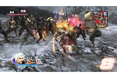 dynasty warriors 7 pc gameplay - YouTube