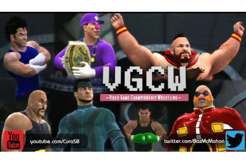 Interview: Video Game Championship Wrestling – Twitch Blog