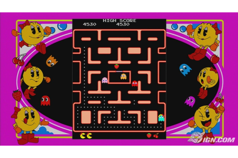 Ms. Pac-Man Screenshots, Pictures, Wallpapers - Xbox 360 - IGN