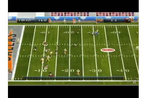 Tecmo Bowl Throwback! (gameplay) - YouTube
