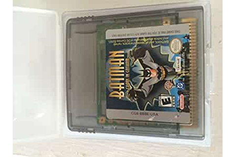 Amazon.com: Batman: Chaos in Gotham: Nintendo Game Boy ...