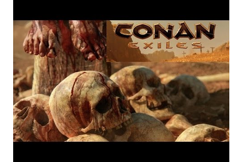 CONAN EXILES Cinematic Trailer PS4 XBOX ONE PC The ...