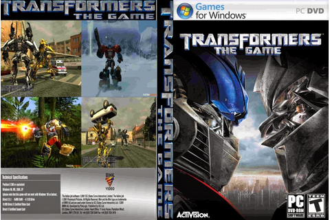 Transformers The Game PC - EIO GAME