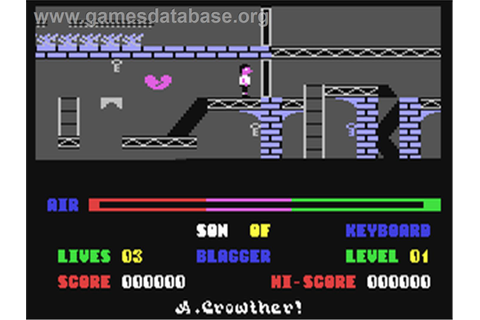 Son of Blagger - Commodore 64 - Games Database