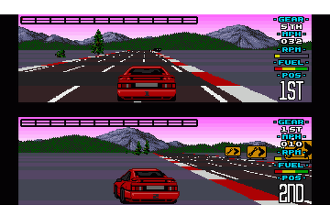 Lotus Esprit Turbo Challenge (1990) by Magnetic Fields Amiga game