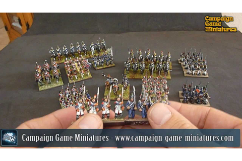 [Campaign Game Miniatures] Miniaturas napoleonicas en 15mm ...
