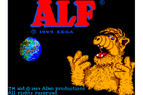 Alf | Top 80's Games