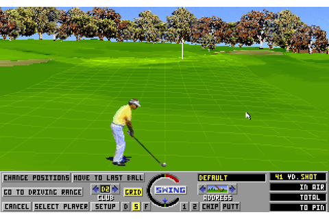 Download Links: The Challenge of Golf sports for DOS (1990 ...