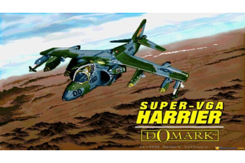 Super-VGA Harrier gameplay (PC Game, 1993) - YouTube