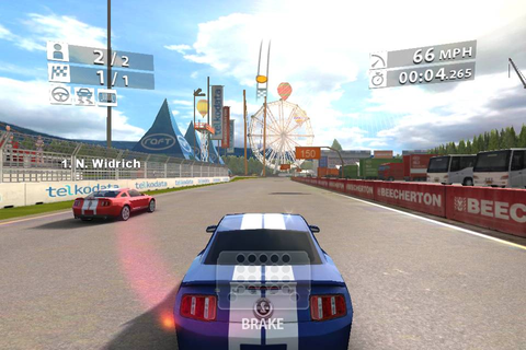 Real Racing 2 for Android Tablets, Review, System ...