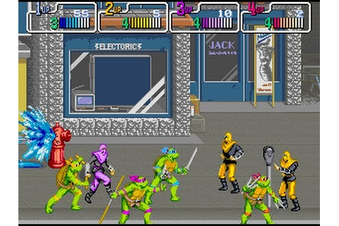 Teenage Mutant Ninja Turtles The Arcade Game Walkthrough ...