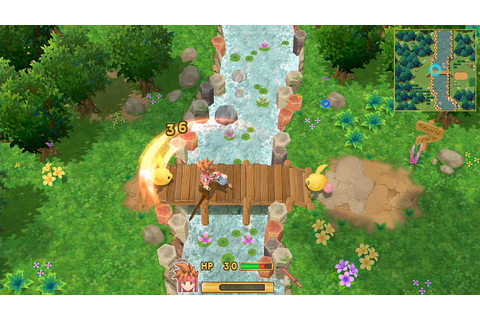 Secret Of Mana Remake Gets Brand New Gameplay Footage