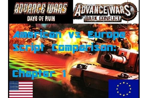 Advance Wars Days of Ruin/Dark Conflict US/EU Script ...