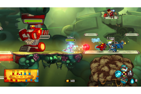 GameTest – Awesomenauts (PS3, 360) | Game Side Story - L ...