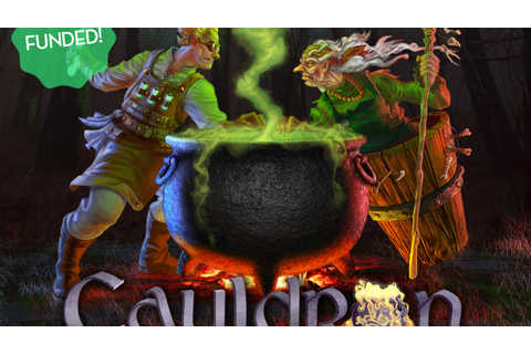 Cauldron: A board game of competitive alchemy by Artem ...