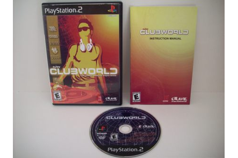 eJay Clubworld - PS2 Game, Just Go Vintage