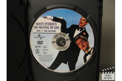 Monty Python's The Meaning of Life (DVD, 2003, 2-Disc Set ...