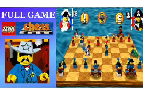 Lego Chess (PC, 1998) - YouTube