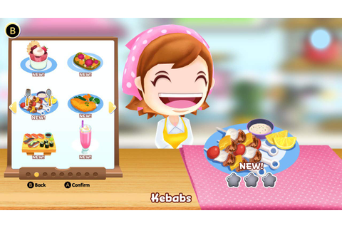 New Cooking Mama: CookStar details, first screenshots ...