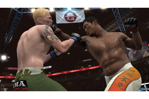 New EA Sports MMA Tokyo Game Show Screenshots | CAWs.ws News