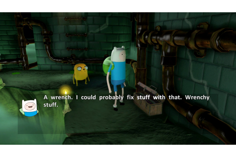 Finn and Jake investigate things in new Adventure Time ...