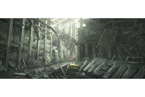 a cancelled #Fallout Project V13 #concept #art ...