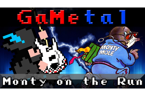 Monty on the Run - GaMetal - YouTube
