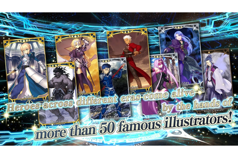 Fate/Grand Order – English version lands in North America ...