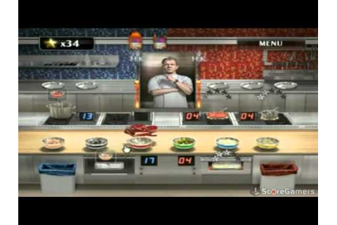Hell's Kitchen Wii Trailer - YouTube