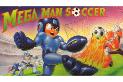 CGRundertow MEGA MAN SOCCER for SNES / Super Nintendo ...