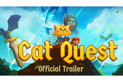 Cat Quest - Steam, iOS, Android - Official Trailer - YouTube