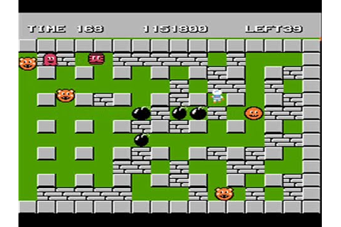 Bomberman - Nes - Full Playthrough - YouTube