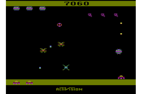 Spider Fighter (Activision) Atari 2600 Game Review ...